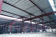 Fast Assembling Steel Skeleton Frame , Rigid Steel Frame For Large Steel Market