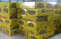 Rock Wool , Fireproofing Rock Wool Insulation Block  From Molten Basalt Rocks