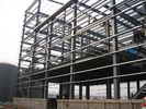 Multi-Floor Building Steel Frame For Office, Dormitory, Commercial Building