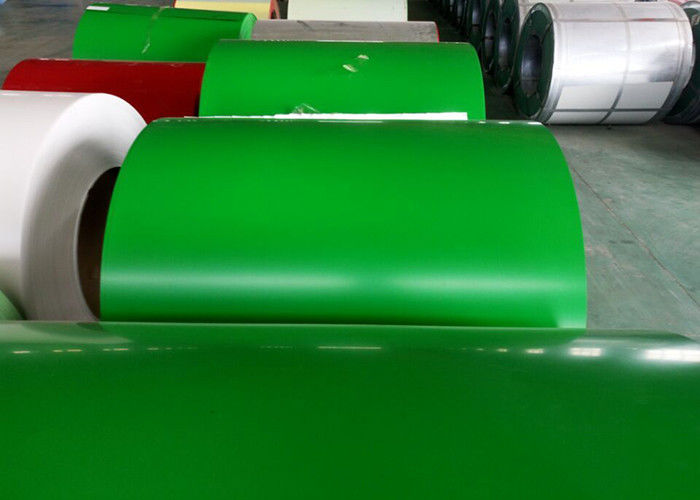 Green Prepainted Galvanized Steel Coil For Metal Building Purlins