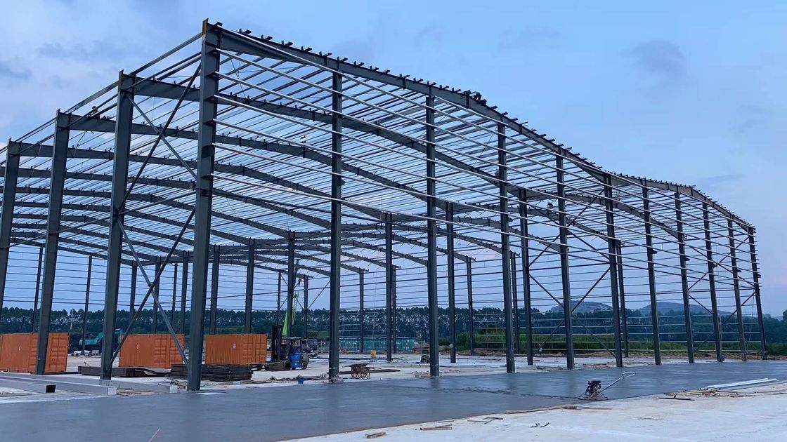 H Beam Q345 Q355B Prefabricated Workshop Steel Structure